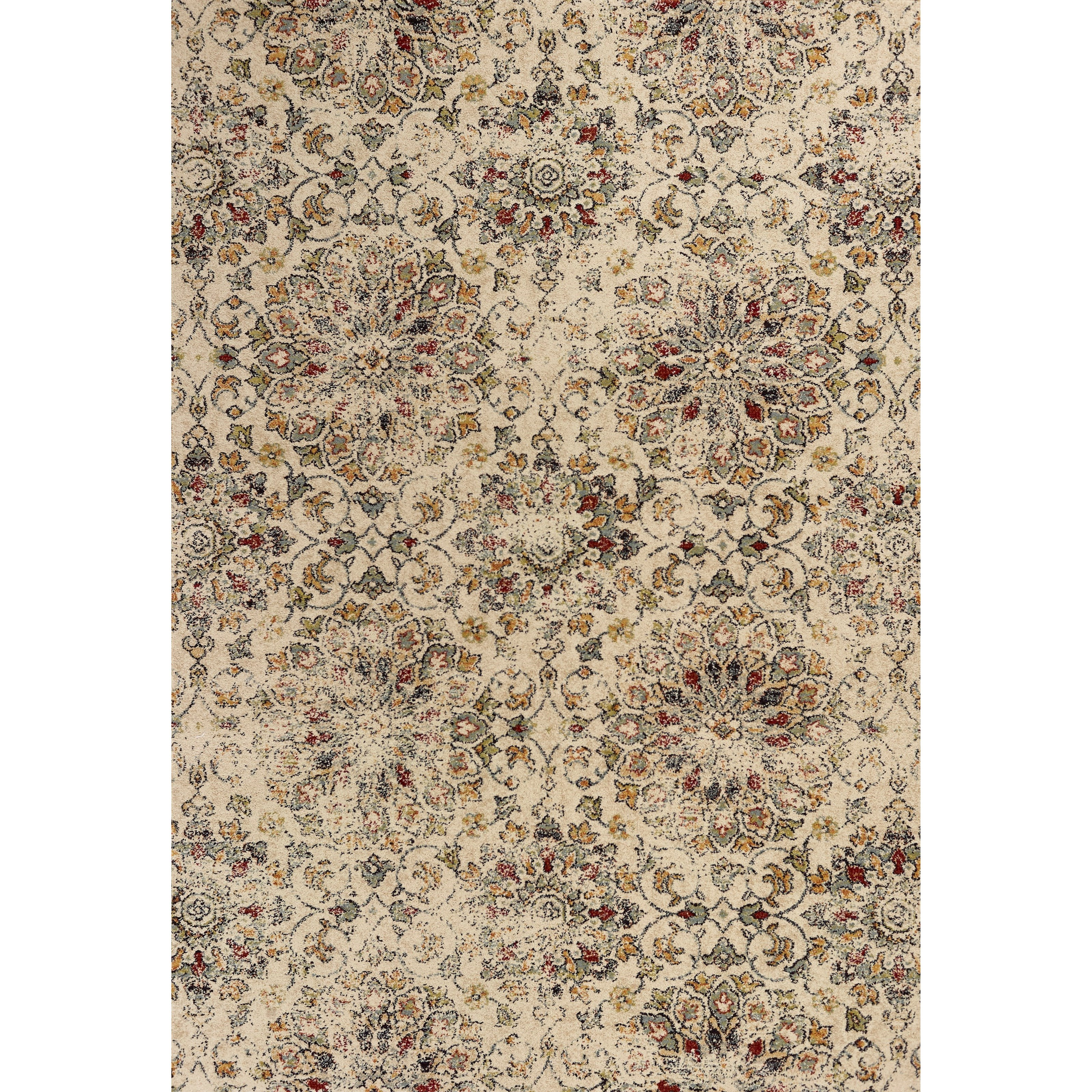 "Bob Mackie Home Vintage 4'11"" X 3'3"" Area Rug by Kas at Zak's Home"