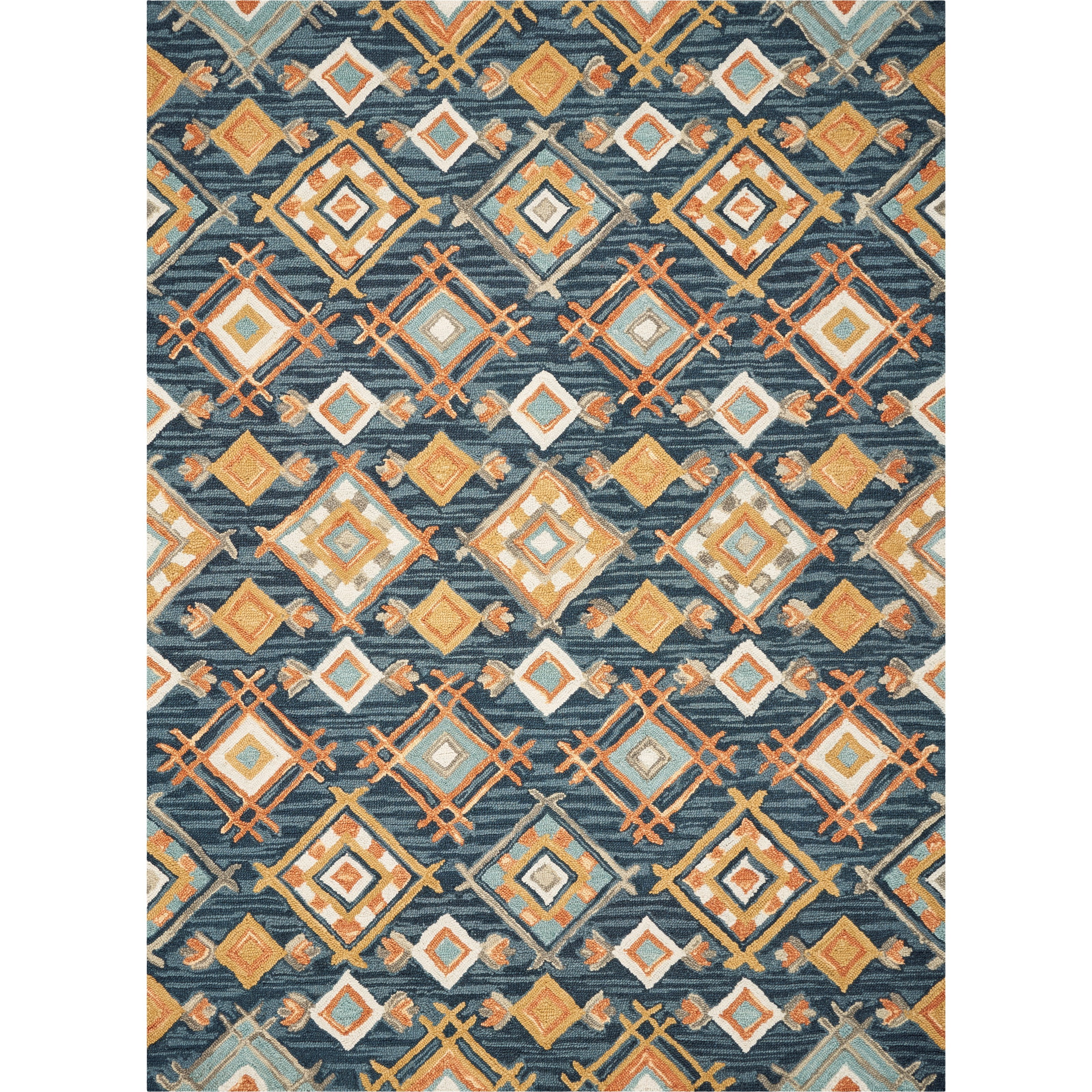 "Brooklyn 5' x 7'6"" Denim Sunset Rug by Kas at Zak's Home"