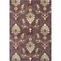 "Kas Cambridge 1'8"" X 2'7"" Plum Palazzo Area Rug - Item Number: CAM736320X31"