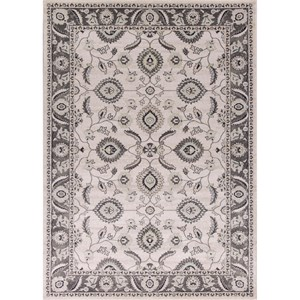 "Kas Chandler 6'6"" X 9'6"" Grey Traditions Area Rug"