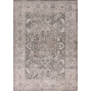 "Kas Chandler 5'3"" X 7'7"" Grey/Taupe Imperial Area Rug"