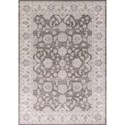 """Kas Chandler 5'3"""" X 7'7"""" Charcoal/Ivory Mahal Area Rug - Item Number: CHD490653X77"""