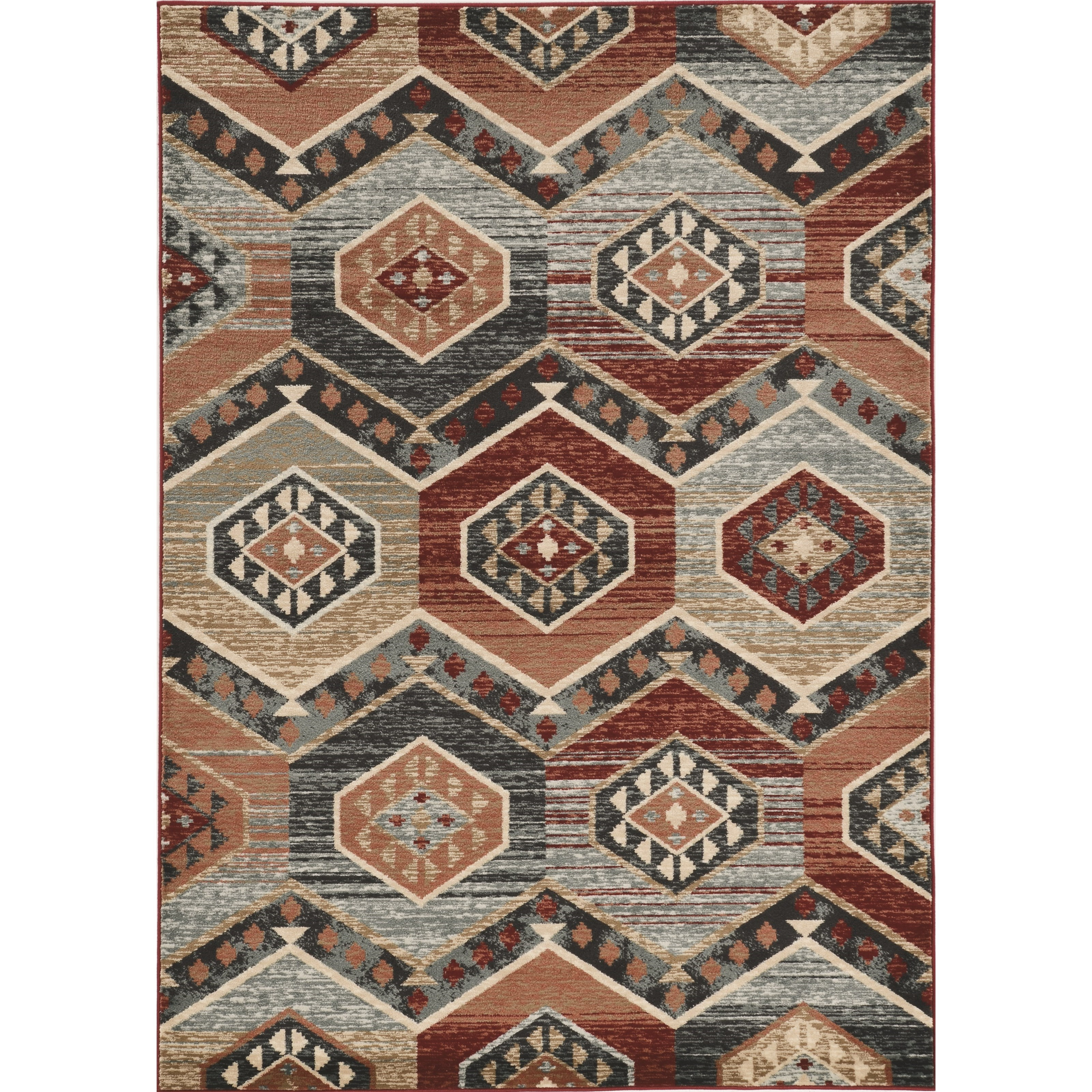 """Chester 2' x 7'7"""" Runner Red Artisan Rug by Kas at Darvin Furniture"""