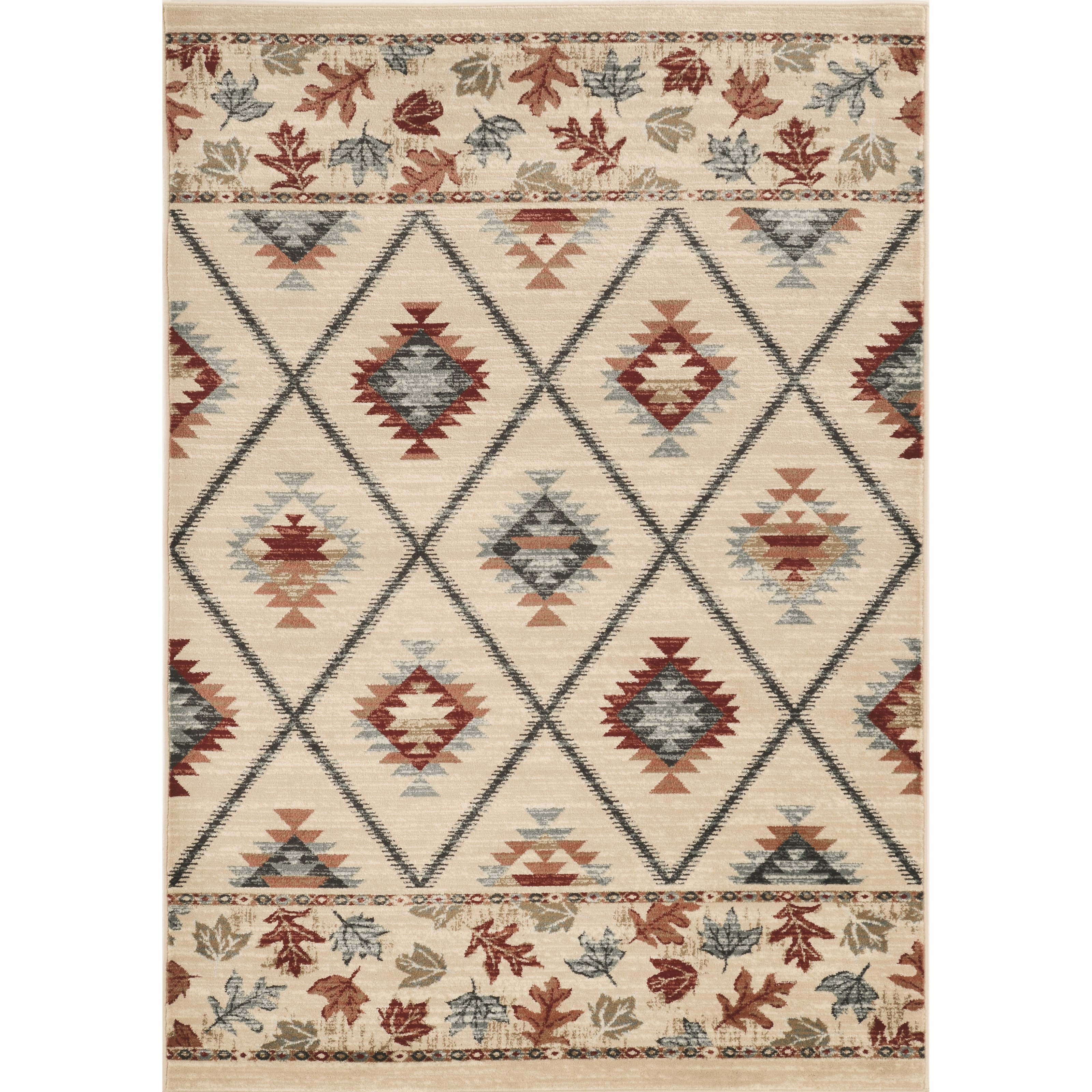 Chester 9' x 12' Ivory Harvest Rug by Kas at Darvin Furniture
