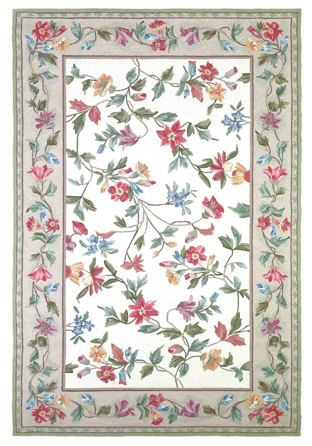 "Kas Colonial 5'3"" x 8'3"" Rug - Item Number: COL170753X83"