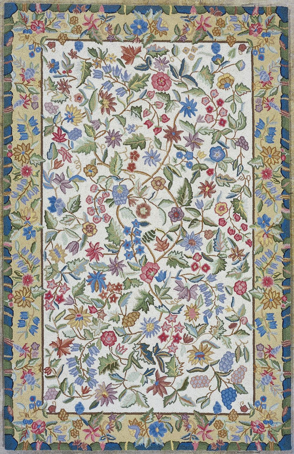 "Kas Colonial 5'3"" x 8'3"" Rug - Item Number: COL178953X83"