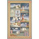 "Kas Colonial 8' x 10'6"" Rug - Item Number: COL18068X106"