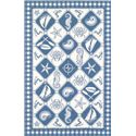 "Kas Colonial 5'3"" x 8'3"" Rug - Item Number: COL180753X83"