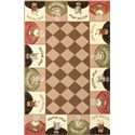 "Kas Colonial 3'6"" x 5'6"" Rug - Item Number: COL181236X56"