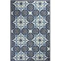 "Kas Colonial 5'3"" x 8'3"" Rug - Item Number: COL182253X83"