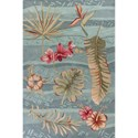 "Kas Coral 3'3"" X 5'3"" Seafoam Visions Area Rug - Item Number: COA416633X53"