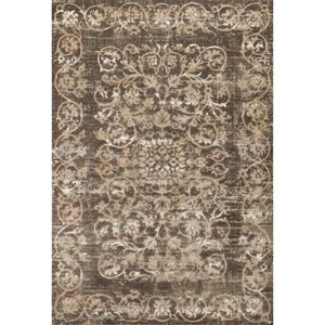"Kas Crete 5'3"" X 7'7"" Taupe Courtyard Area Rug"
