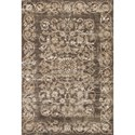 """Kas Crete 5'3"""" X 7'7"""" Taupe Courtyard Area Rug - Item Number: CRE650853X77"""