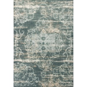 "Kas Crete 5'3"" X 7'7"" Slate Traditions Area Rug"