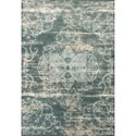 """Kas Crete 5'3"""" X 7'7"""" Slate Traditions Area Rug - Item Number: CRE651053X77"""