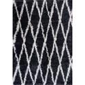 "Kas Delano 3'3"" X 5' Charcoal Visions Area Rug - Item Number: DEL115233X5"