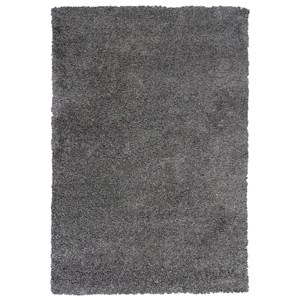 "Kas Delano 3'3"" X 5' Grey  Solid Area Rug"
