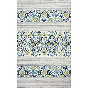 "Kas Donny Osmond Home Escape 7'6"" X 9'6"" Blue Serenity Area Rug"