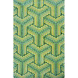 "Kas Donny Osmond Home Escape 7'6"" X 9'6"" Ocean Connections Area Rug"