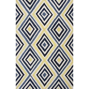 "Kas Donny Osmond Home Escape 7'6"" X 9'6"" Ivory/Blue Dimensions Area Rug"