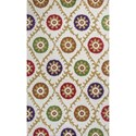 "Kas Donny Osmond Home Harmony 3'3"" X 5'3"" Ivory Origins Area Rug - Item Number: DOH811233X53"