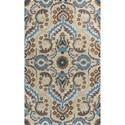 """Kas Donny Osmond Home Harmony 2'3"""" X 7'6"""" Sand Tapestry Area Rug - Item Number: DOH811323X76RU"""