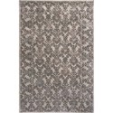 "Kas Donny Osmond Home Timeless 5'3"" X 7'8"" Silver Tranquility Area Rug - Item Number: DOT800153X78"