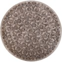 """Kas Donny Osmond Home Timeless 7'7"""" X 7'7"""" Silver Tranquility Area Rug - Item Number: DOT800177X77RO"""