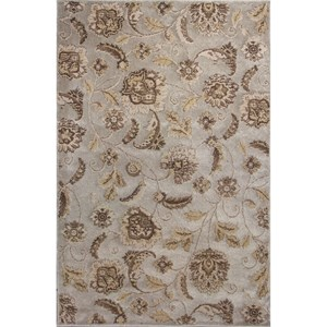 "Kas Donny Osmond Home Timeless 2'2"" X 3'3"" Silver Charisma Area Rug"