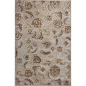"Kas Donny Osmond Home Timeless 3'3"" X 4'11"" Silver Charisma Area Rug - Item Number: DOT800233X411"