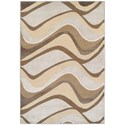 "Kas Donny Osmond Home Timeless 2'2"" X 3'3"" Metallic Visions Area Rug - Item Number: DOT800522X33"