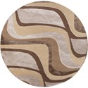 """Kas Donny Osmond Home Timeless 7'7"""" X 7'7"""" Metallic Visions Area Rug - Item Number: DOT800577X77RO"""