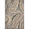 Kas Donny Osmond Home Timeless 9' X 13' Silver Wood Grains Area Rug - Item Number: DOT80109X13