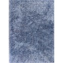 "Kas Fina 2'3"" X 3'9"" Denim Heather Area Rug - Item Number: FIA055427X45"