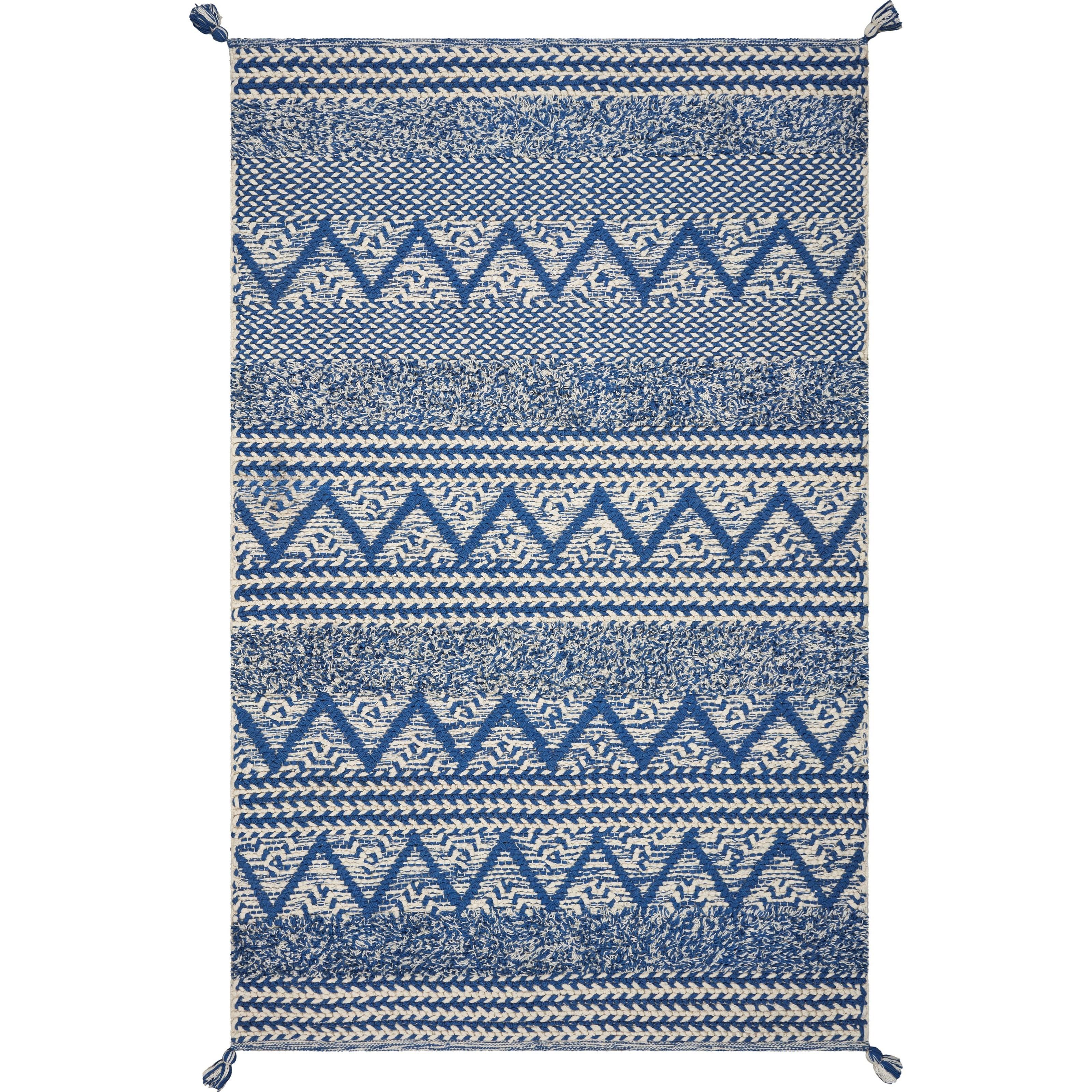 8' x 11' Blue Hermosa Beach Rug