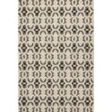 "Kas Harbor 5' X 7'6"" Charcoal Scrollwork Area Rug - Item Number: HAR42015X76"