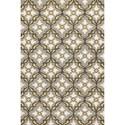"Kas Harbor 3'3"" X 5'3"" Grey/Gold Mosaic Area Rug - Item Number: HAR420933X53"
