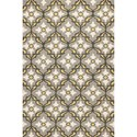"Kas Harbor 7'6"" X 9'6"" Grey/Gold Mosaic Area Rug - Item Number: HAR420976X96"