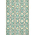 "Kas Harbor 3'3"" X 5'3"" Aqua Empire Area Rug - Item Number: HAR421533X53"