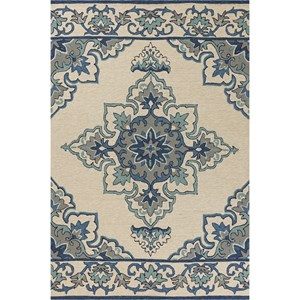 "Kas Harbor 5'3"" X 3'3"" Area Rug"