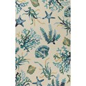"Kas Harbor 5'3"" X 3'3"" Area Rug - Item Number: HAR424433X53"
