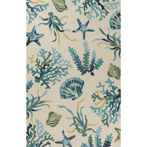 "Kas Harbor 9'6"" X 7'6"" Area Rug"