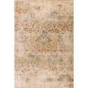 "Kas Heritage 5'3"" X 7'8"" Champagne Damask Area Rug - Item Number: HER935153X78"