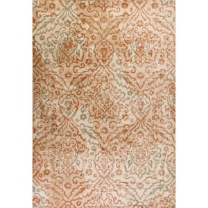 "Kas Heritage 3'3"" X 4'11"" Sand Traditions Area Rug"