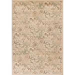 "Kas Heritage 2'2"" X 7'11"" Sage Accents Area Rug"