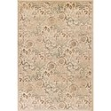 "Kas Heritage 5'3"" X 7'8"" Ivory Florence Area Rug - Item Number: HER935553X78"