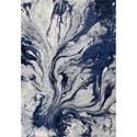 "Kas Illusions 7'7"" X 5'3"" Area Rug - Item Number: ILL620153X77"