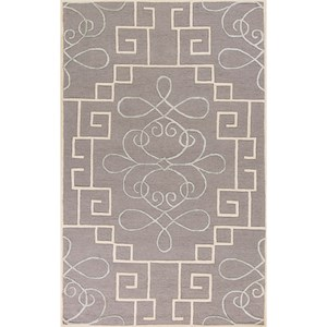 "Kas Impressions 5'3"" X 7'7"" Grey Windsor Area Rug"