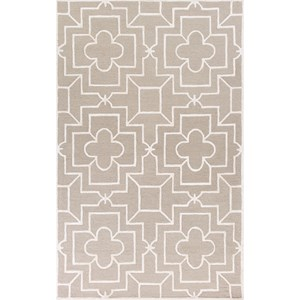 "Kas Impressions 6'9"" X 9'6"" Beige Timeless Area Rug"