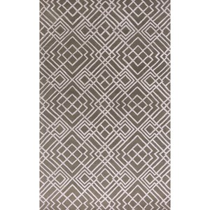 "Kas Impressions 2'3"" X 4'11"" Pewter Sterling Area Rug"